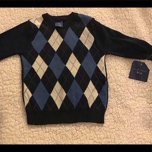 Boy's navy sweater.    NWT